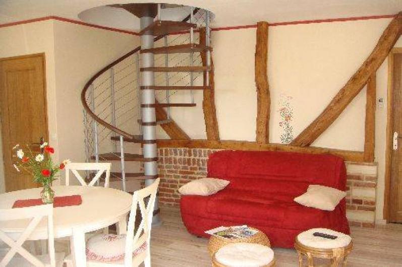Location de vacances - Gîte à Nibas - partie salon