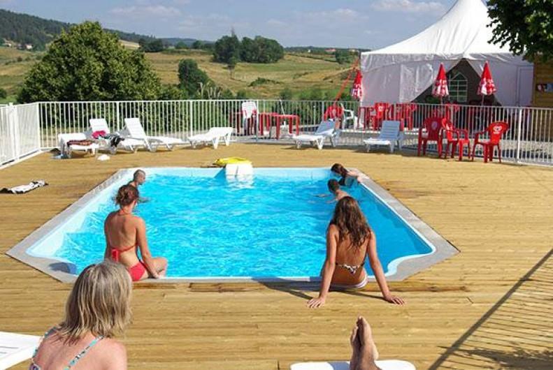 Location de vacances - Camping à Langogne - La piscine chauffée