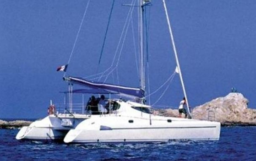 Location de vacances - Bateau à Les Anses-d'Arlet - Athena 38
