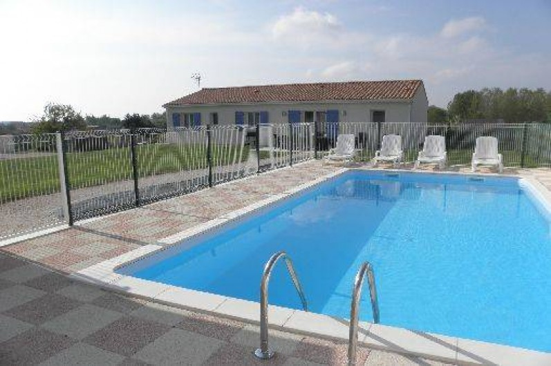 Location de vacances - Villa à Belluire