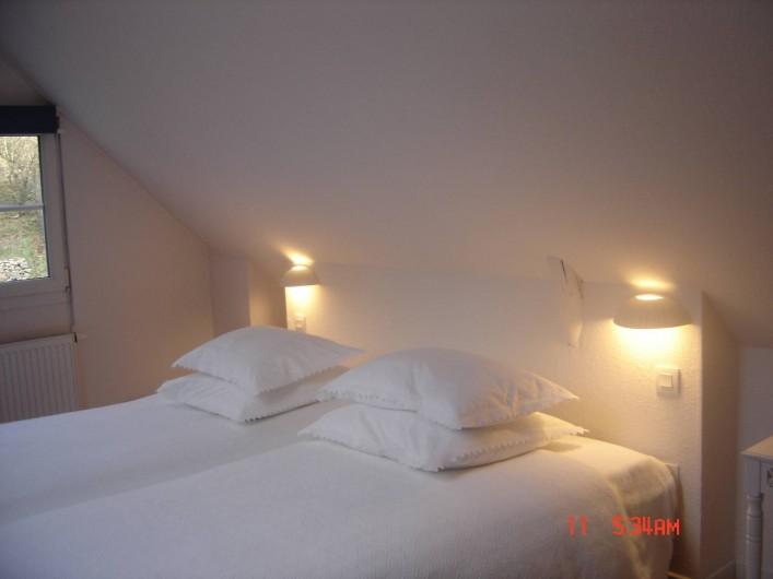 Location de vacances - Chambre d'hôtes à Kuttolsheim - suite etoile chambre 2 lits 90x200