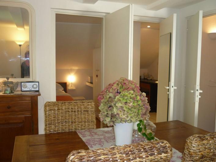 Location de vacances - Chambre d'hôtes à Kuttolsheim - suite Etoile salon,
