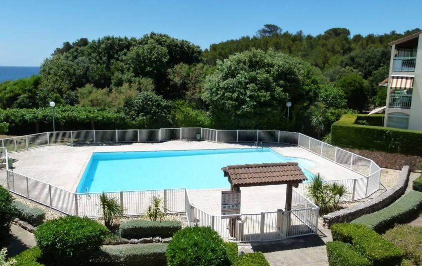 Location de vacances - Studio à Sausset-les-Pins - Clôturée et gardée