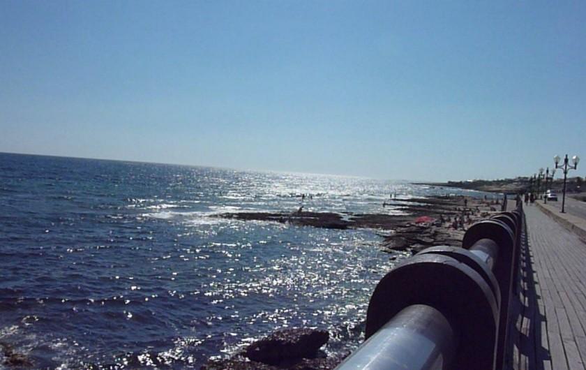 Location de vacances - Studio à Sausset-les-Pins - Promenades front de mer