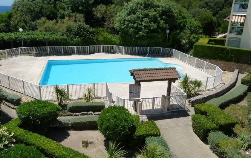 Location de vacances - Studio à Sausset-les-Pins - La piscine privée