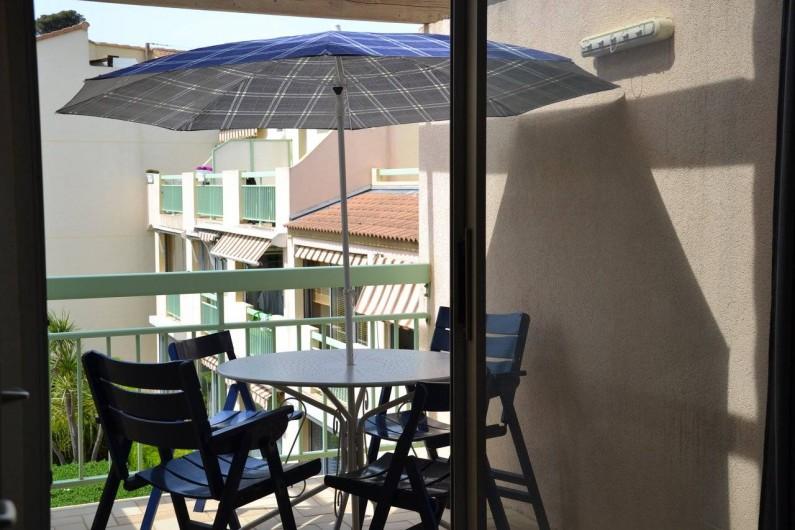 Location de vacances - Studio à Sausset-les-Pins - ....et coin apéro