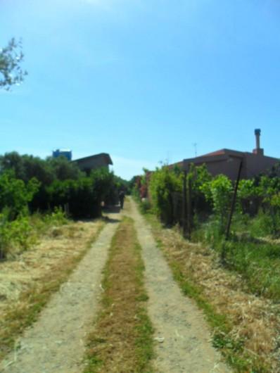 Location de vacances - Chalet à Guspini - L'allée conduisant à la propriété.