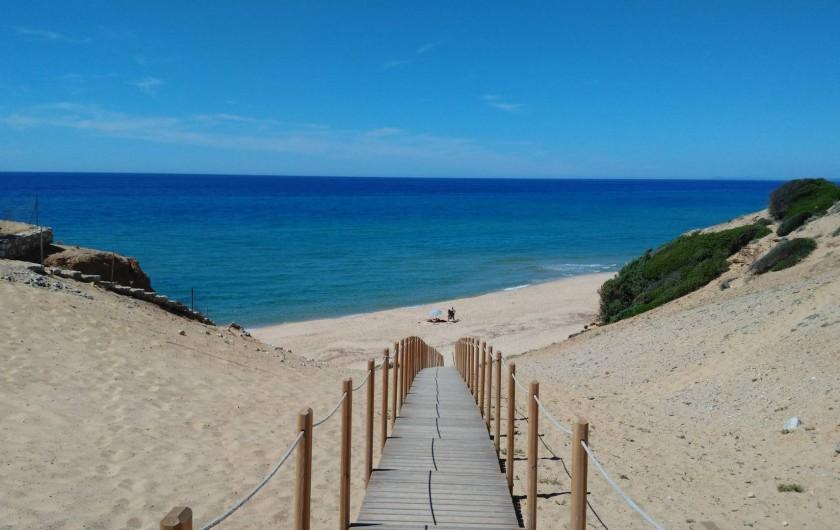Location de vacances - Chalet à Guspini - La plage de Scivu