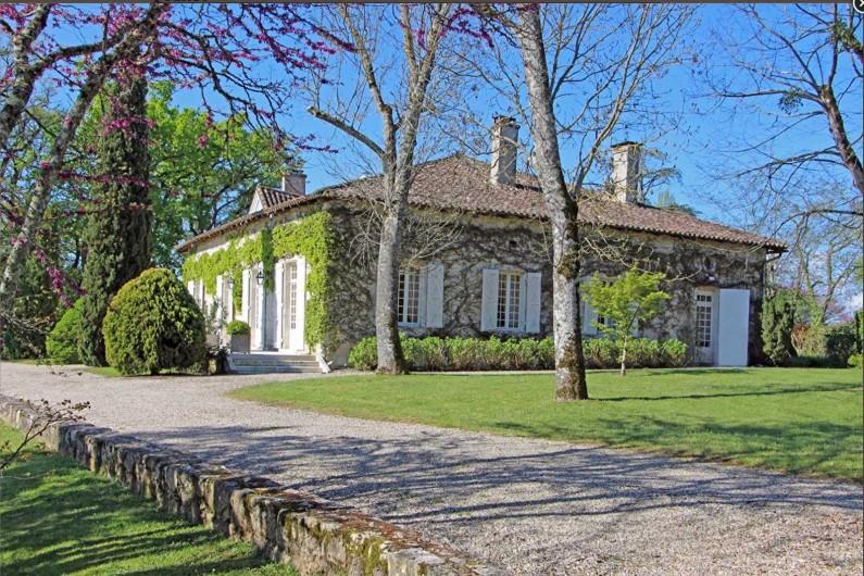 Location de vacances - Chambre d'hôtes à Saint-Paul-d'Espis - Batisse principale de 500 M2 avec 2 suites.