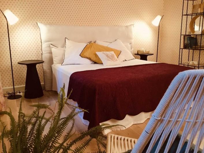 Location de vacances - Chambre d'hôtes à Saint-Paul-d'Espis - Suite Jardin Secret - 2eme Chambre - 1 lit double ou 2 lits simples