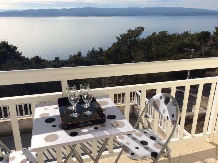 Location de vacances - Appartement à Brela - Le balcon privé qui n'attend plus que Vous !