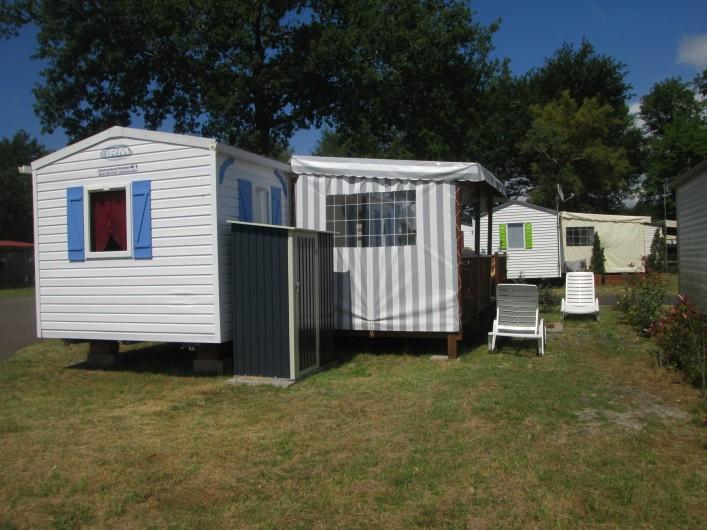 Location de vacances - Bungalow - Mobilhome à Mimizan - mobilhomme Azur