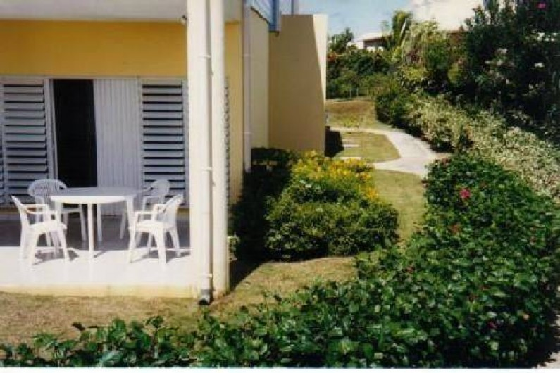 Location de vacances - Appartement à Sainte-Anne - La terrasse