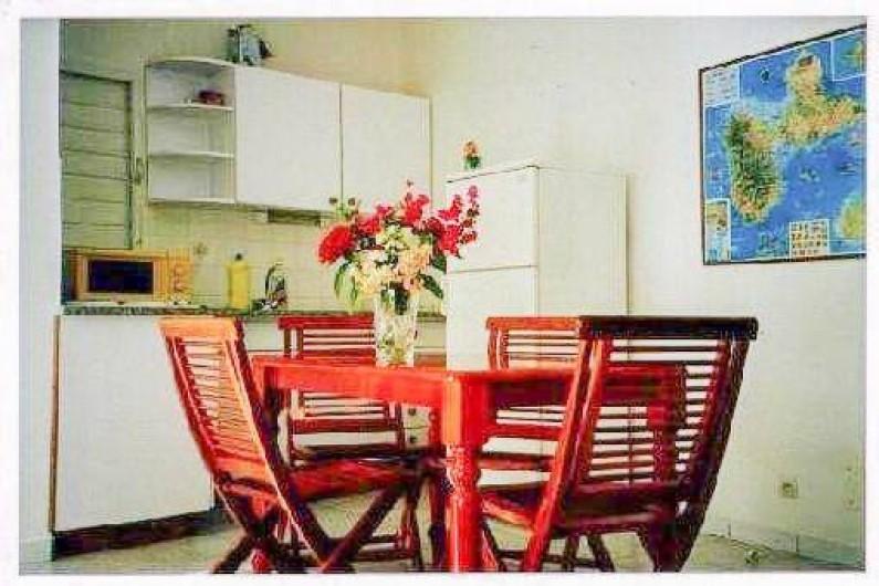 Location de vacances - Appartement à Sainte-Anne - Le séjour