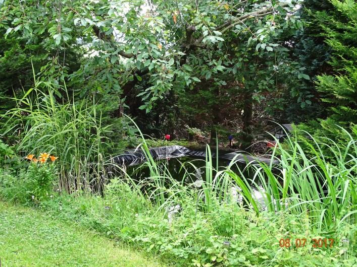 Location de vacances - Gîte à Allendorf - Petit etan dans le jardin