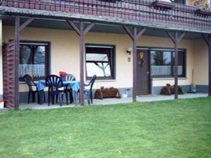 Location de vacances - Gîte à Allendorf - Terrasse