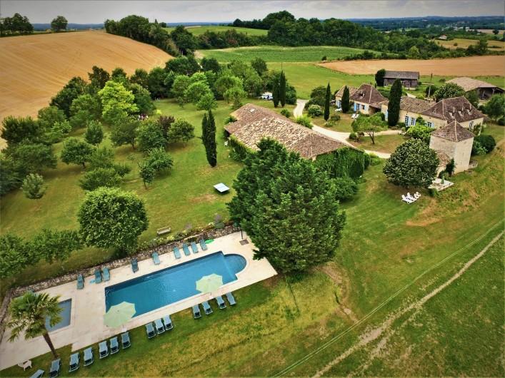 Location de vacances - Gîte à Villeréal - Le Jeanquet de Villeréal -5 gîtes de charmes avec piscines