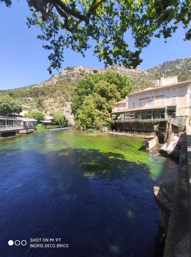 Location de vacances - Gîte à Grillon - Fontaine-de-Vaucluse