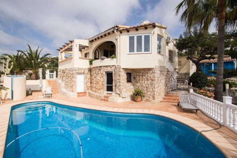 Location de vacances - Villa à Benissa - la piscine
