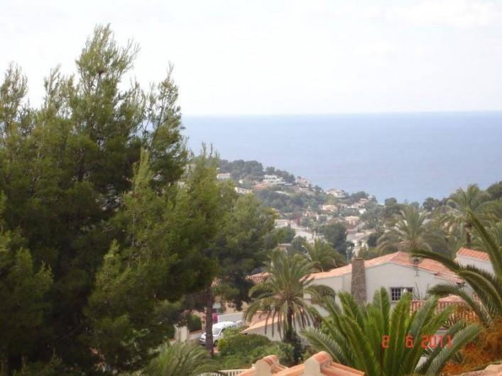 Location de vacances - Villa à Benissa - une vue de le terrasse