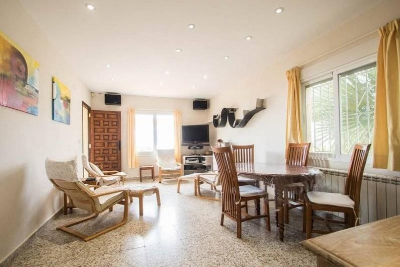 Location de vacances - Villa à Benissa - le living