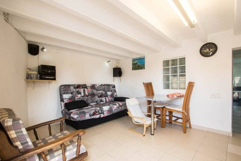 Location de vacances - Villa à Benissa - dans le studio coin a manger