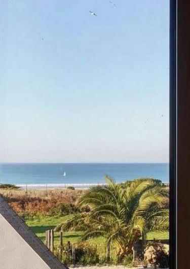 Location de vacances - Maison - Villa à Erquy - Vue mer de la mezzanine