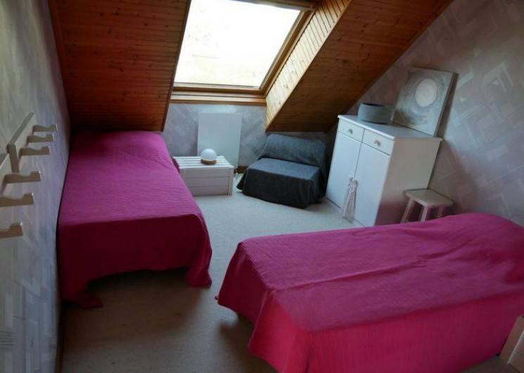 Location de vacances - Maison - Villa à Erquy - Chambre haut (2 lits simples 80)