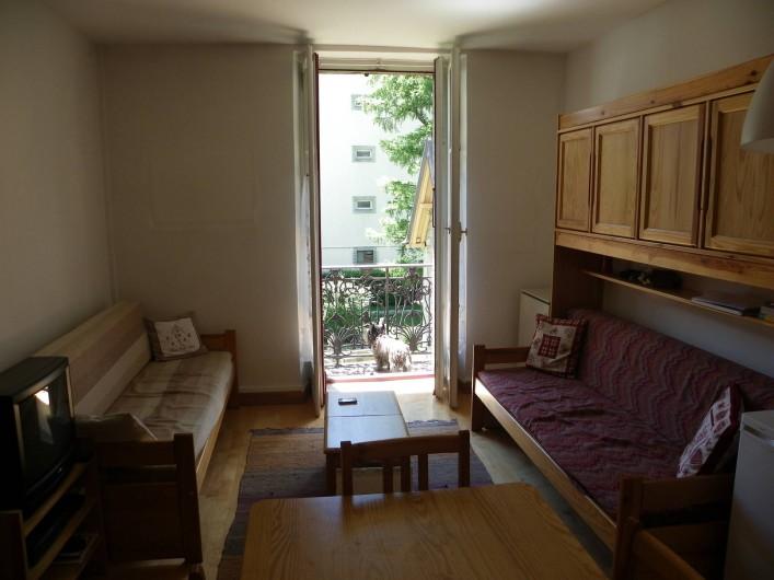 Location de vacances - Appartement à Chamonix-Mont-Blanc - séjour