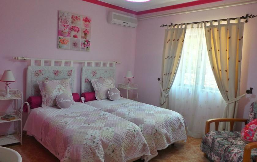 Location de vacances - Villa à Alvor - Chambre Rosa