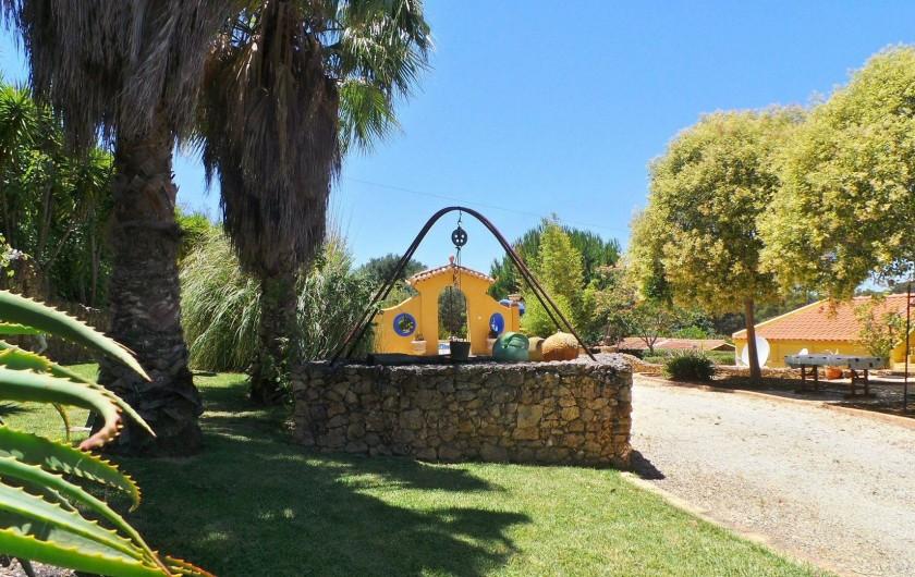 Location de vacances - Villa à Alvor - Jardin Parc