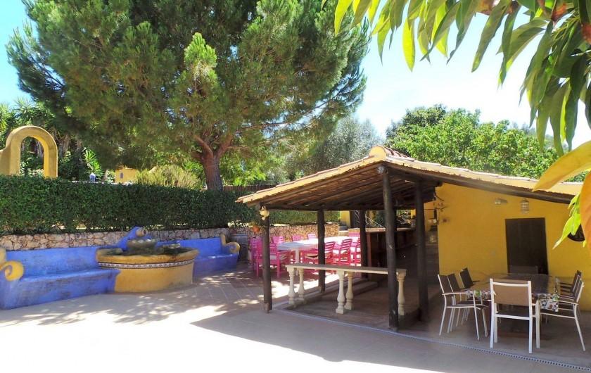 Location de vacances - Villa à Alvor - Repas exterior