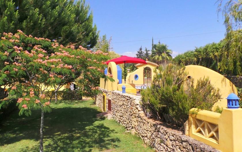 Location de vacances - Villa à Alvor - Pelouse
