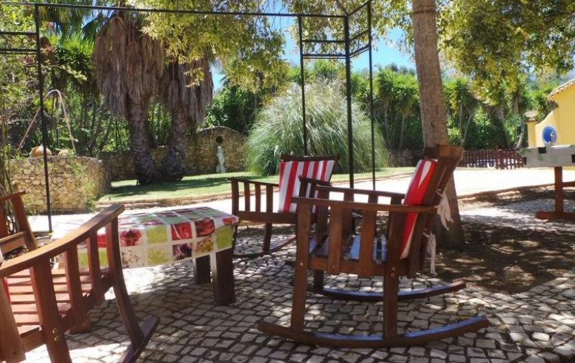 Location de vacances - Villa à Alvor - Table basse  détente