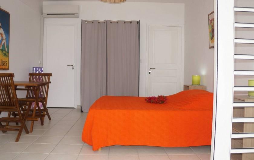 """Location de vacances - Appartement à Les Trois-Îlets - Villa Ansalane - Studio """"Pierre"""""""