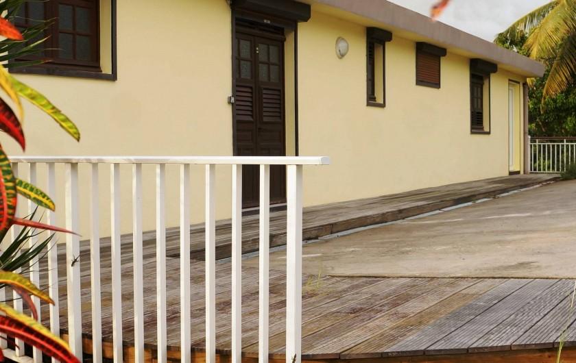 Location de vacances - Appartement à Les Trois-Îlets - Villa Ansalane - parking gratuit devant la Villa