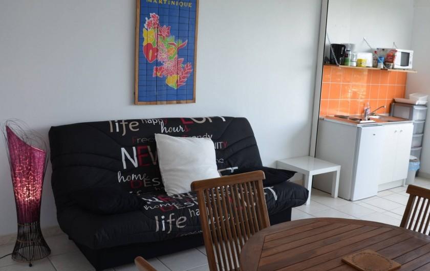 """Location de vacances - Appartement à Les Trois-Îlets - Villa Ansalane - T2 """"Anna"""""""