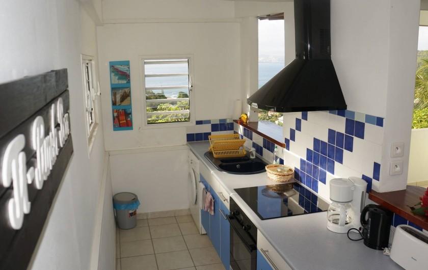 """Location de vacances - Appartement à Les Trois-Îlets - Villa Ansalane - T2 """"Raphaëlle"""""""