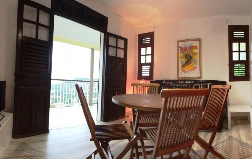 """Location de vacances - Appartement à Les Trois-Îlets - Villa Ansalane - T2 """"Elise"""""""
