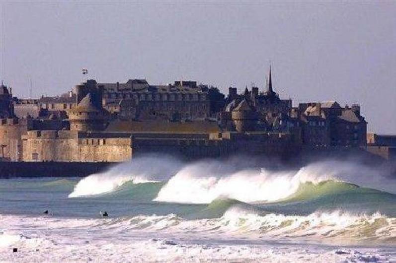 Location de vacances - Appartement à Saint-Malo - la vieille ville (intra-muros)