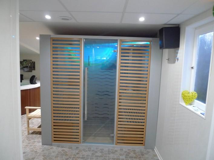 Location de vacances - Appartement à Saint-Malo - le sauna