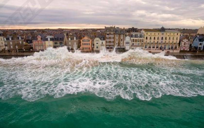 Location de vacances - Appartement à Saint-Malo - les grandes marées...