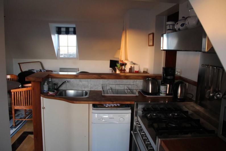Location de vacances - Appartement à Barfleur - Piano à gaz, réfrigérateur, lave-vaisselle
