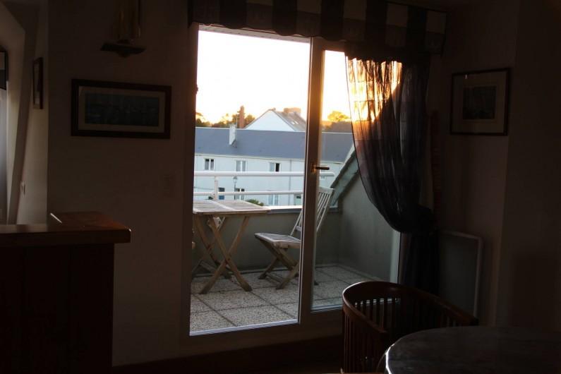 Location de vacances - Appartement à Barfleur - Balcon - terrasse