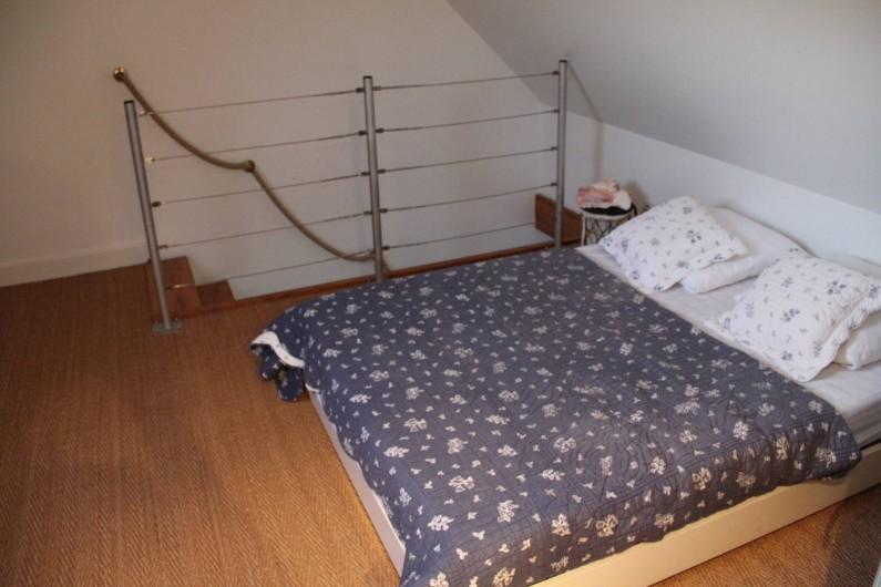 Location de vacances - Appartement à Barfleur - Chambre à l'étage