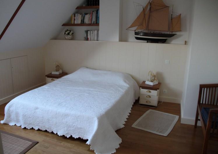 Location de vacances - Appartement à Barfleur - Chambre principale