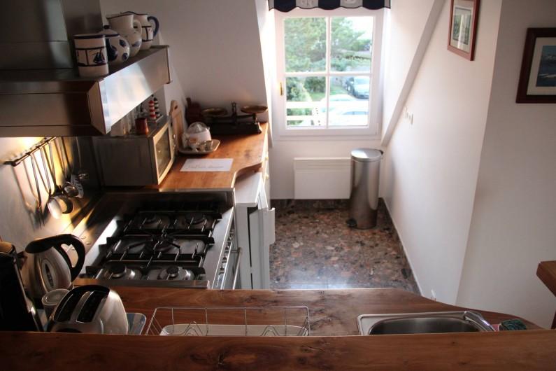Location de vacances - Appartement à Barfleur - Cuisine aménagée et équipée