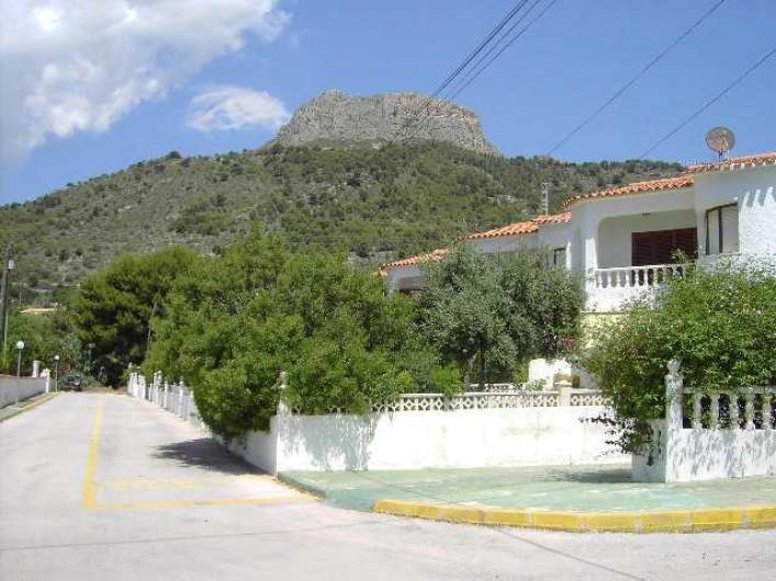 Location de vacances - Chalet à Calp - vue Ensemble de la Residence