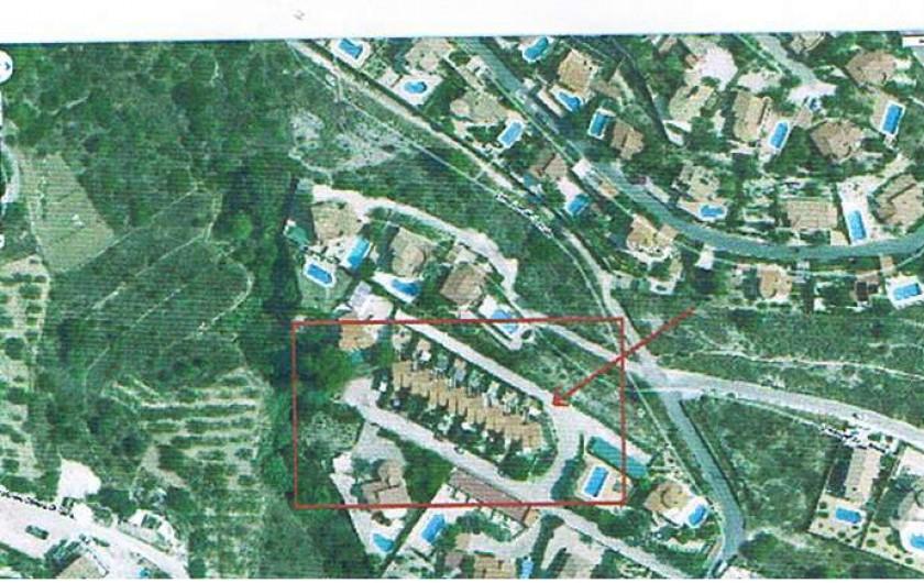 Location de vacances - Chalet à Calp - plan Google maps