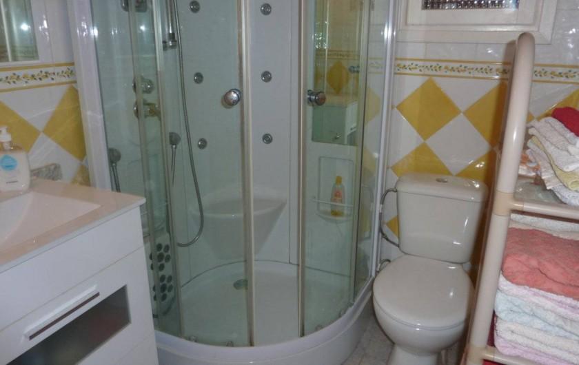 Location de vacances - Chalet à Calp - 1ere Salle de bain